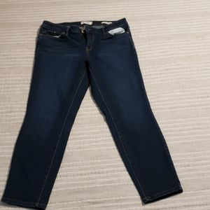 Jessica Simpson Forever Rolled Ankle Jeans